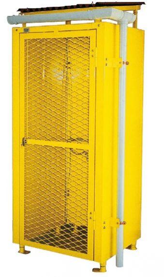 Ντουλάπες Αερίων υπό Πίεση σε Οβίδες 960χιλ. Τοποθετείται σε εξωτερικό χώρο. Χωρά 3 Οβίδες